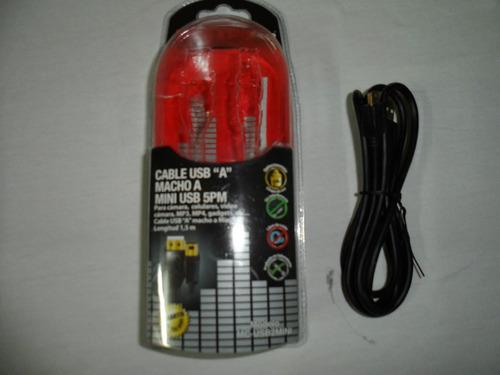 cable usb para minidisc