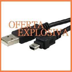 cable usb p/camara panasonic lumix dmc-lc33 dmc-fz10 dmc-l33