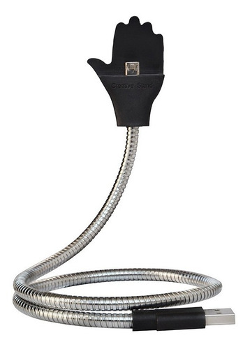 cable usb pemium flexible metalico para iphone y android