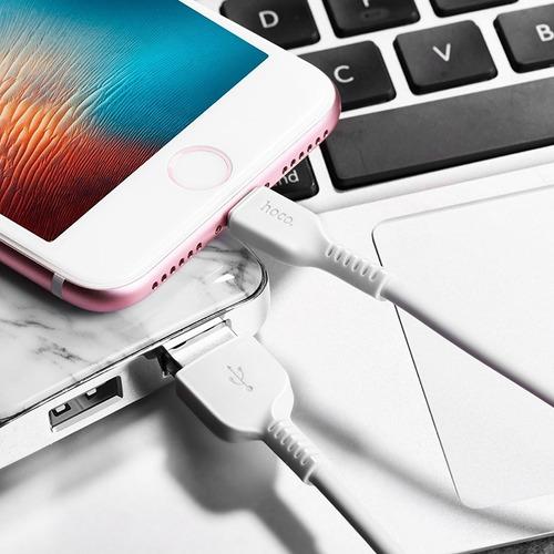 cable usb premium hoco x13 iphone 6 7 8 plus x xs xr xs max