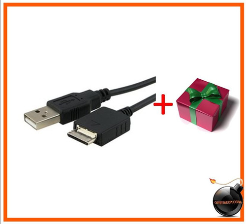 cable usb reproductor mp3 mp4 sony nwz-a829 a845 e435f e436f
