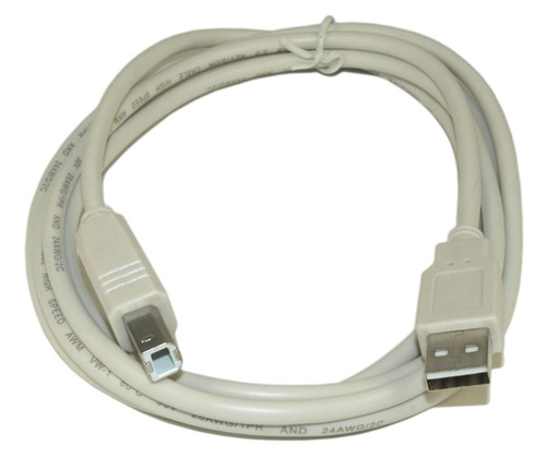cable usb tipo a  a tipo b 1.8 impresora scanner router