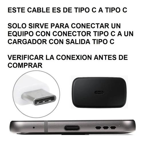 cable usb tipo c a c samsung original s20 20 plus s20 ultra