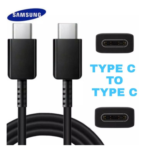 cable usb tipo c a tipo c samsung original note 10 s20 a70