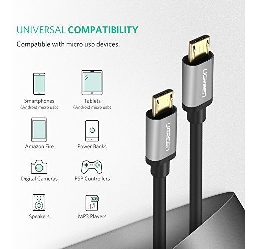 Cable Usb Ugreen Micro Usb Splitter Cable Usb 2 0 A Dual Mic