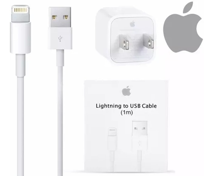 b5a025cfe56 Cable Usb Y Cargador Original Tipo Apple iPhone 6 7 8 X - $ 248.99 ...