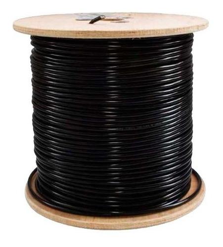 cable utp apantallado intemperie cat6 100% cobre 305 mts