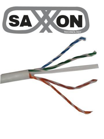 cable utp blanco categoria 6 / cca / bobina 305 mts / redes