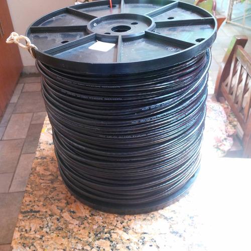 cable utp bobina 305mt cat5e exterior doble chaqueta elecon
