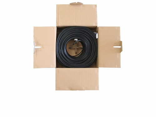 cable utp bobina enson 12251b100 eco cat5e 100mts negro