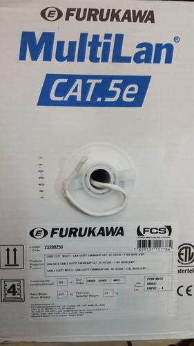 cable utp cat 5-e 305mts furukawa rj45