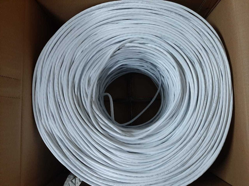 cable utp cat 5 rollo interior exterior  305 metros redes