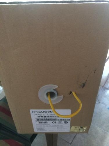 cable utp cat 5e amp caja 305 mts