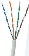 cable utp cat 5e bobina 100 metros netlinks red cat5e