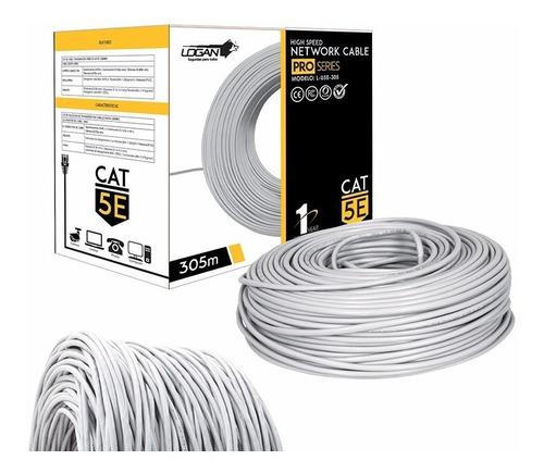 cable utp cat 5e bobina 305 mts rj45 cctv redes internet dvr
