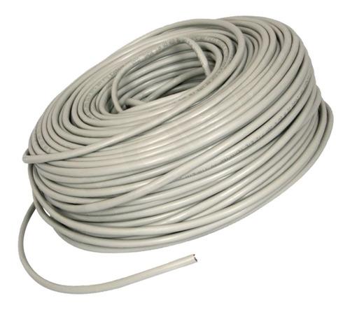 cable utp cat 5e bobina 50 metros marca wireplus+ cat5e