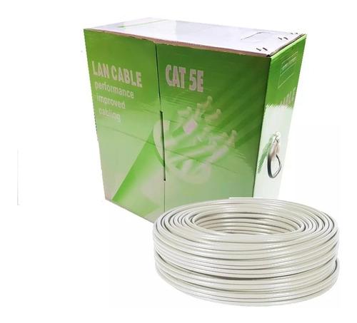 cable utp cat 5e bobina de 100mts rj45 somos tienda