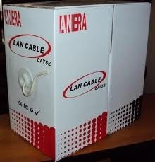 cable utp cat 5e. en caja 305 m.