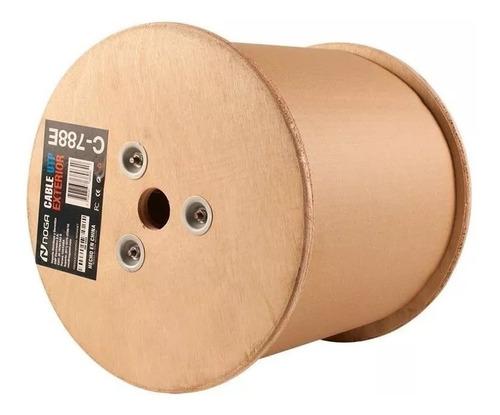 cable utp cat 5e exterior rollo bobina 305 mts ditron cctv