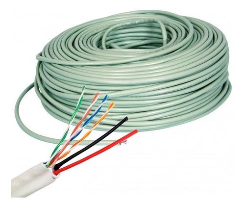 cable utp cat 5e siames x 100 metros