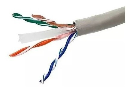 cable utp cat 6 hellermann tyton interior categoria 6 305m