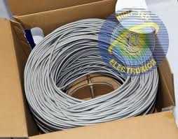 cable utp cat 6 rollo de 305 metros sp comunication + 30rj45