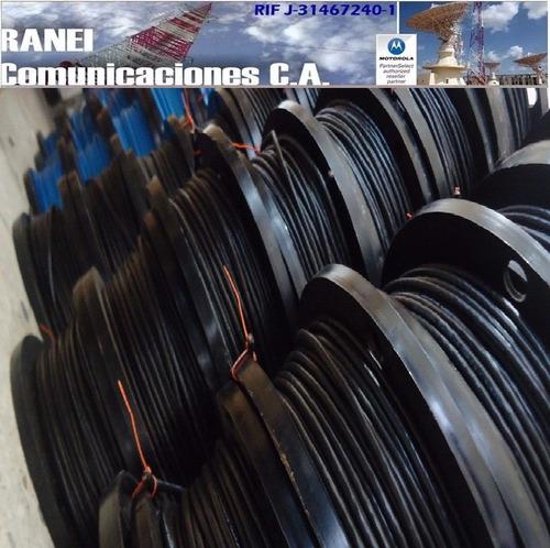 cable utp cat5 100% cobre  100m  4 pares exterior negro
