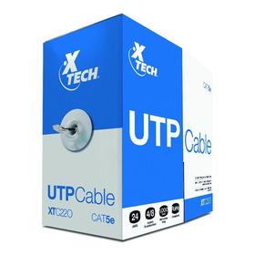Cable Utp Cat5e 305 Mts Gris Xtech