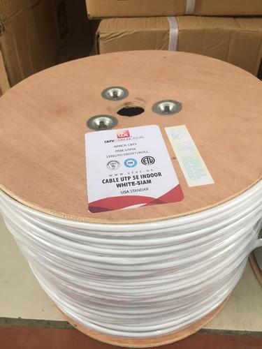 cable utp cat5e americano siames certificadox305mts