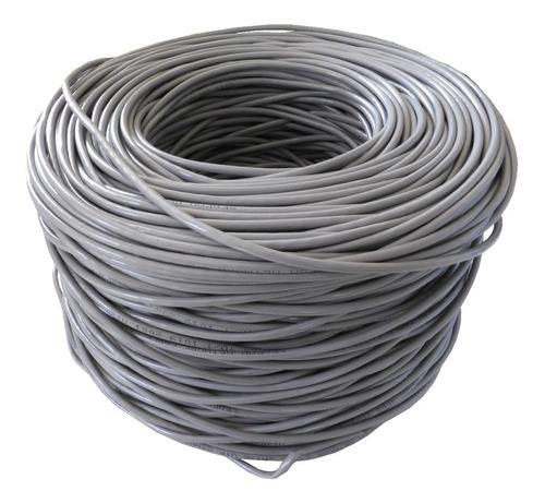 cable utp cat5e bobina 25 metros 100% cobre wireplus cat 5e