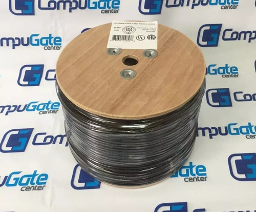 cable utp cat5e bobina 305 mts intemperie exterior outdoor