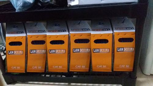 cable utp categoria 5e por metro varias marcas