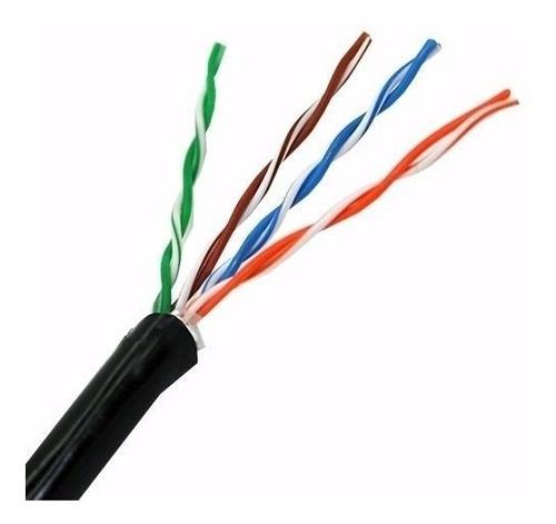 cable utp exterior cat6 bobina 305mts dm link