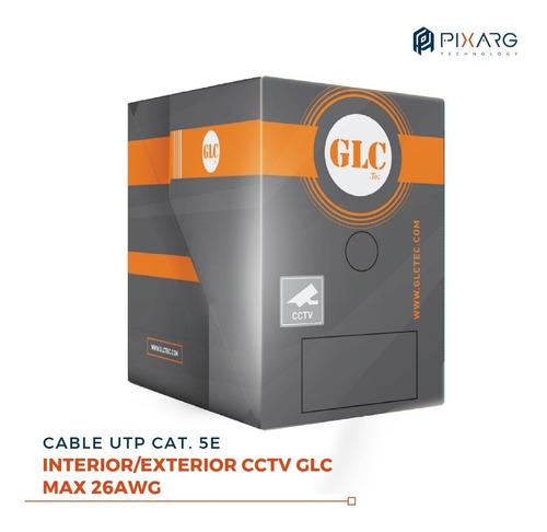 cable utp glc max cctv 305 metros  categoria 5e 100% cobre