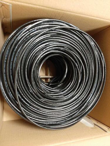 cable utp para exterior cat 5e rollo 305m 60 cobre blindado
