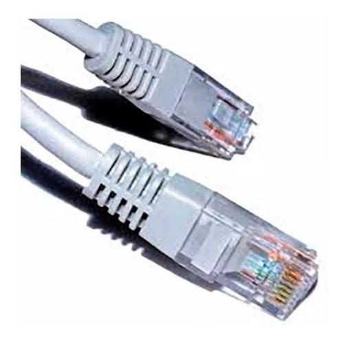 cable utp red ethernet de 3mtrs armado rj45 internet noganet