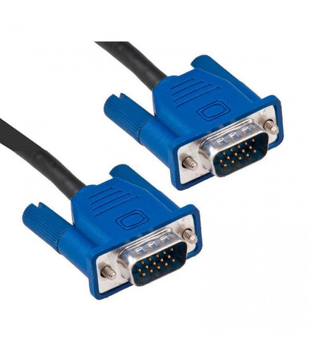 cable vga 10 mts pc a monitor, tv, proyector video rgb db15