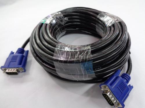 cable vga 15 metros macho macho 15 pines monitor pc tv hd
