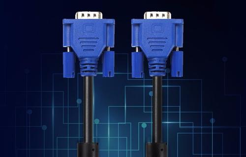 cable vga 1.5 mts macho macho 15 pines monitor pc tv hd