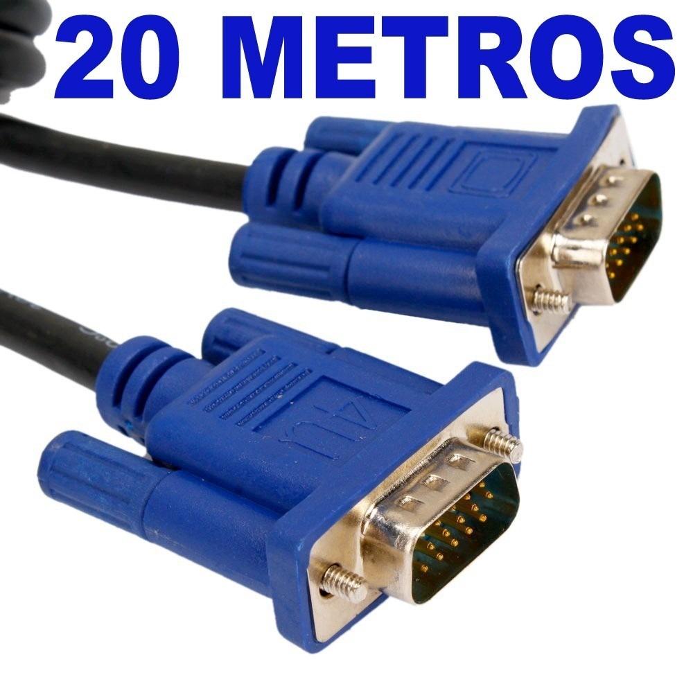 Cable vga 20 metros macho macho 15 pines s 110 00 en - Cable ethernet 20 metros ...