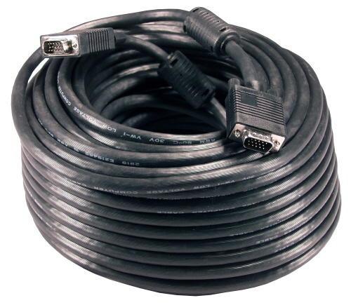 cable vga 25 metros 15 pines alta calidad con filtros