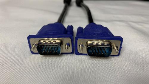 cable vga 3 metros de longitud full hd para monitor o tv