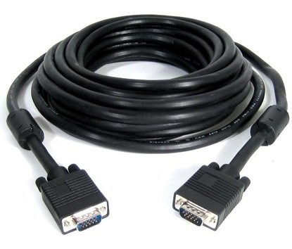 cable vga 3 metros mts monitor video con filtro de ferrite
