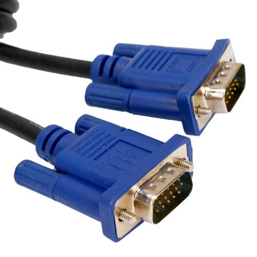 cable vga 3metros macho-macho 15pines computacion proyeccion