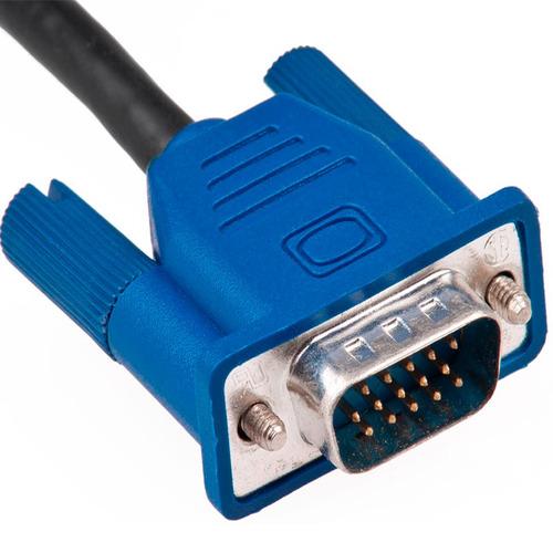 cable vga a vga 15 metros conectores macho-macho pc y laptop