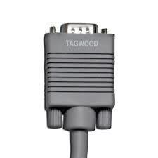 cable vga a vga de 3 metros, con dos filtros. 15 pins hvga02
