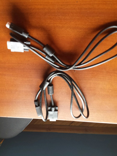 cable vga gruesos alta calidad -filtros evita interferencias