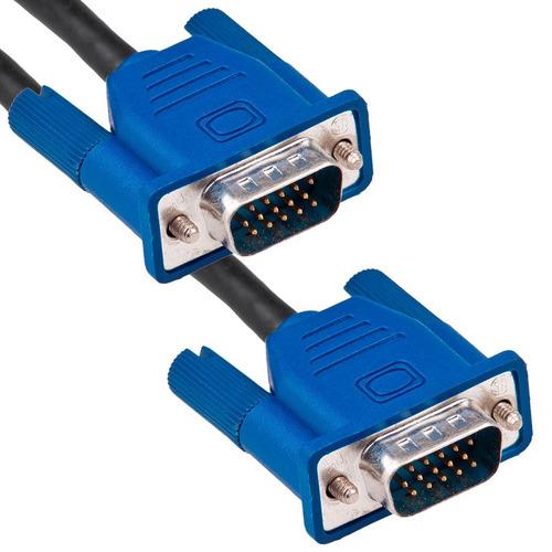 cable vga macho a vga macho 10 metros para pc proyector
