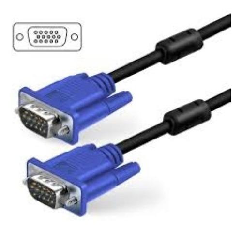 cable vga macho a vga macho 3mts 2 filtros titan belgrano