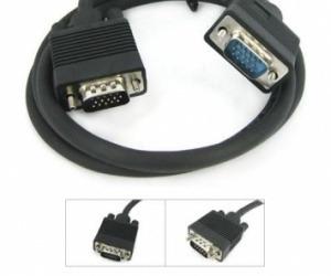 cable vga macho/macho con filtro 15 metros dracma